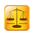 Justice balance law vector image