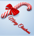 merry christmas isometric background vector image vector image