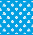 pullover pattern seamless blue vector image vector image