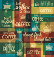 Retro Coffee Badges and Labels Collection