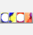 set background splash watercolor bright vector image vector image