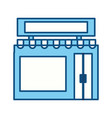 shop store building vector image vector image