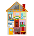 My House vector image