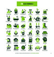 36 symbols for eco home vector image