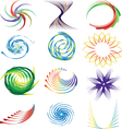Collection of design elements vector image vector image