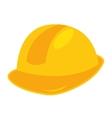 helmet builder silhouette icon vector image vector image