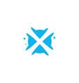 initial letter x swoosh orbit logo designs x