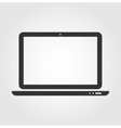 Laptop web icon flat design vector image vector image