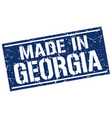 made in georgia stamp vector image vector image