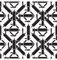 Syringe icon seamless pattern vector image vector image