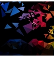 triangular style abstract background triangles vector image vector image