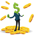 Money Symbol Currency Character Finance vector image