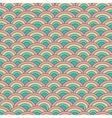 Geometry seamless pattern fish scale in vector image