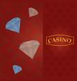 casino gmae concept vector image