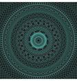 circles grid vector image vector image