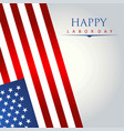 postcard with american flag for independence day vector image vector image