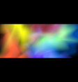 abstract background of multi-colored transparent vector image vector image