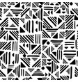 Geometric seamless hand draw folk patter weave