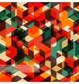 Retro abstract pattern Seamless background vector image vector image