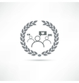 think icon vector image vector image