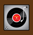 Vinyl Record Player vector image