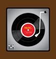 Vinyl Record Player vector image