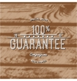 One hundred percent guarantee badges logos and vector image