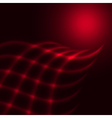 Abstract red background vector image vector image