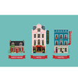 Accommodation Icon Set vector image vector image