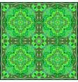 Bright green handkerchief vector image