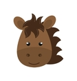 cute animal farm isolated icon design vector image vector image