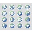 Eco icon set Environment vector image vector image