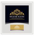 letter y logo design concept royal luxury gold vector image vector image
