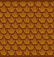 seamless pattern paving brown old rotiles vector image vector image