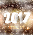 happy new year background 1609 vector image vector image