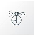perfume icon line symbol premium quality isolated vector image
