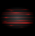 red laser lights vector image