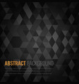 abstract background with black squares business vector image vector image