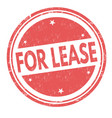 For lease sign or stamp