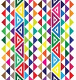 hawaiian tribal rainbow tattoo seamless pattern vector image