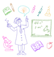 Laboratory doodles vector | Price: 1 Credit (USD $1)