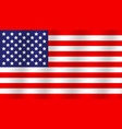 original and simple united state america flag vector image vector image