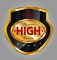 Premium quality product label vector image vector image