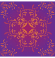 Purple pattern background vector image vector image