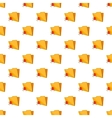 Spider virus in folder pattern cartoon style vector image vector image