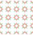 Stylized Twirled Flower Trellis Background vector image vector image