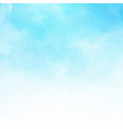 white cloud detail in blue sky vector image vector image