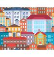 Seamless city street vector image