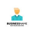 avatar client face happy man person user business vector image