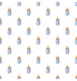 baby bottle with nipple pattern seamless vector image vector image